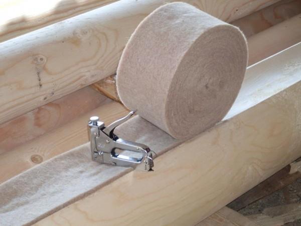 Использование джута значительно сокращает сроки строительства.
