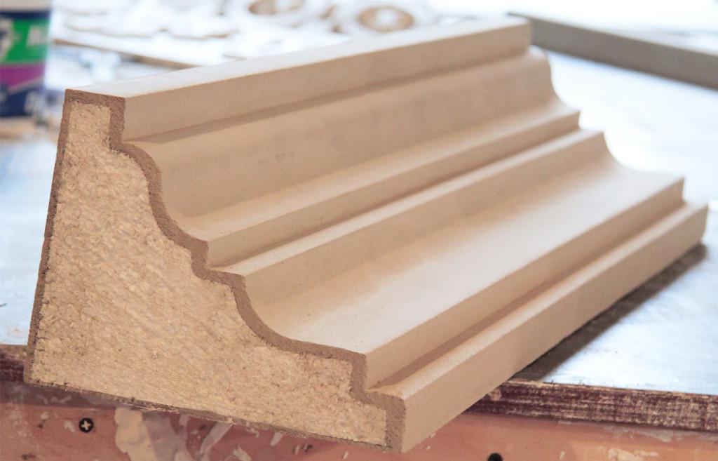 Пенополистирол может использоваться в качестве элемента декора.