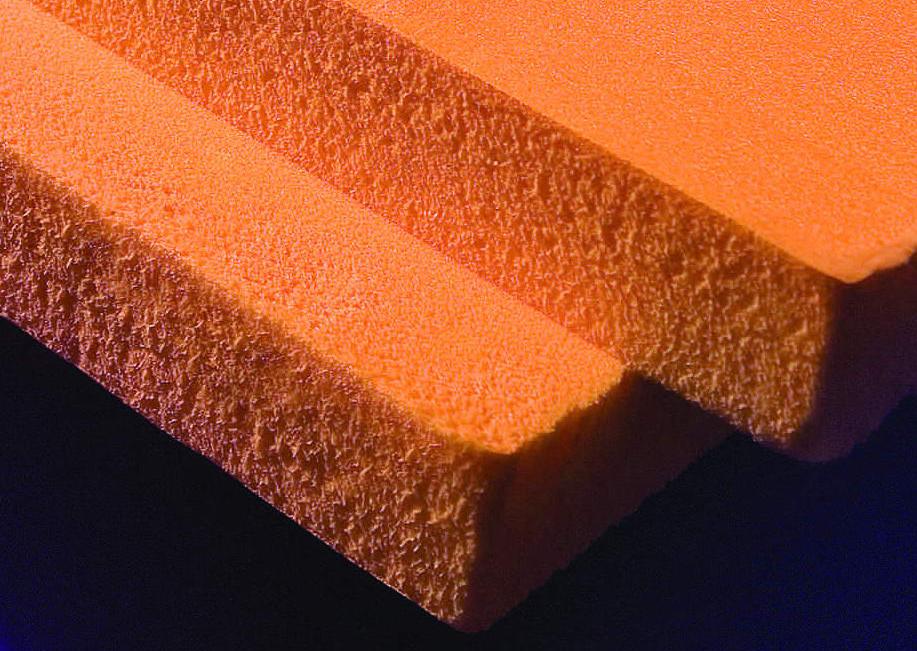 Благодаря пористой структуре пеноплекс имеет отличные теплоизоляционные качества