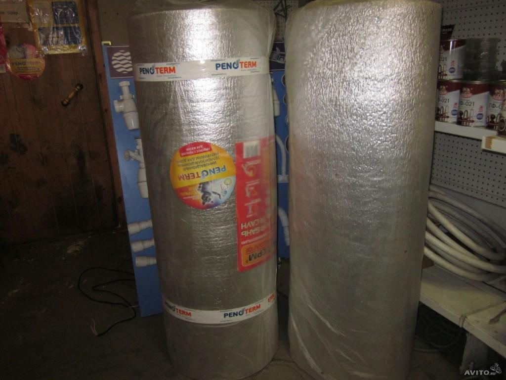 Фольгированный утеплитель отлично подходит для помещений с высокой влажностью