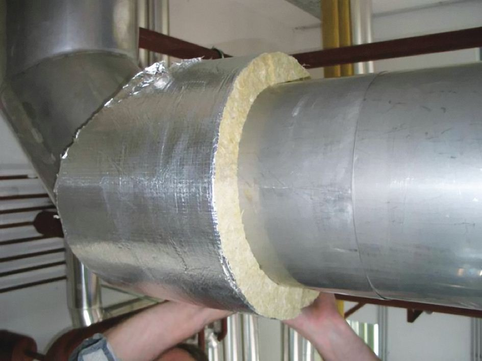 Этот материал не создает нагрузку на трубы.